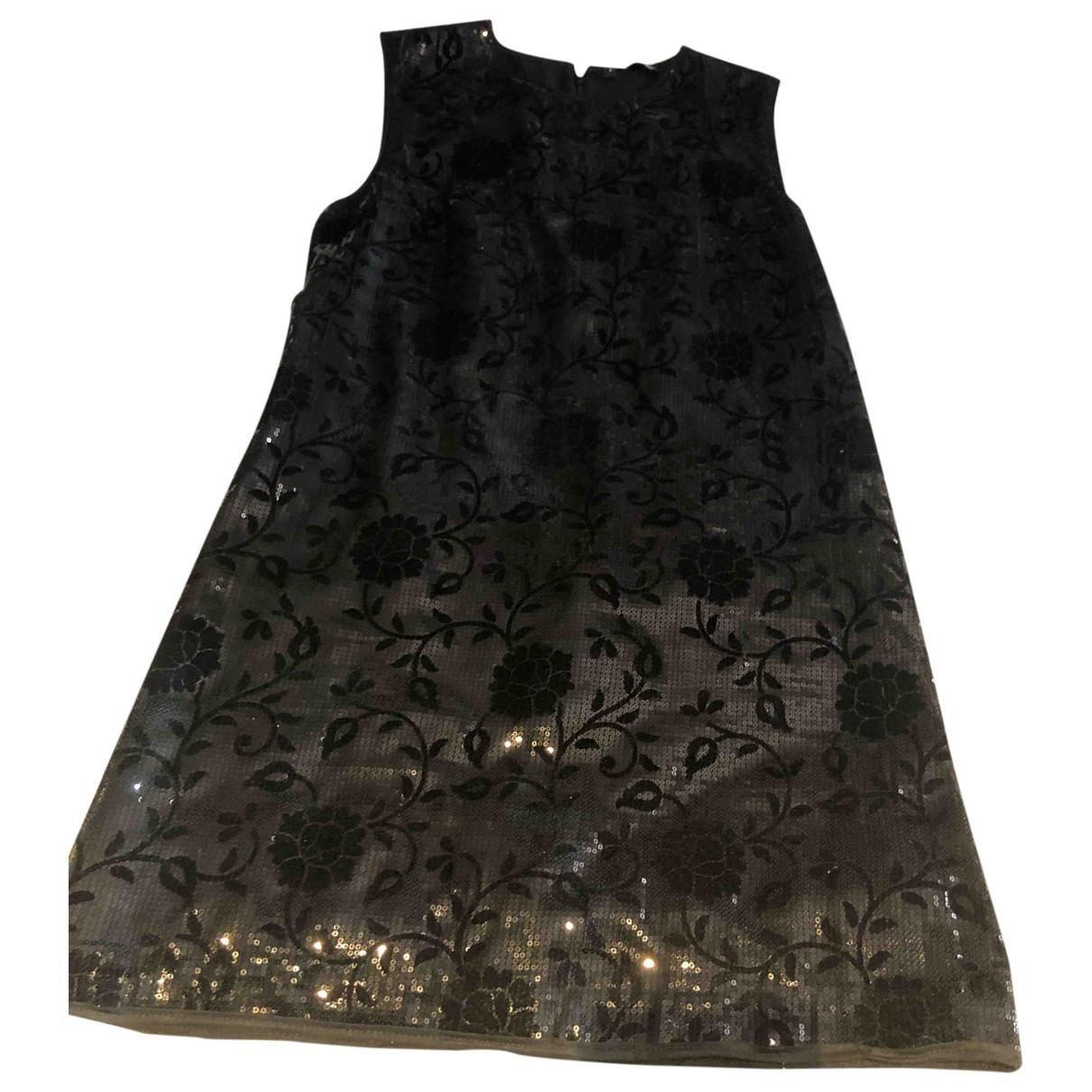 The Kooples - Robe   pour femme en a paillettes - noir
