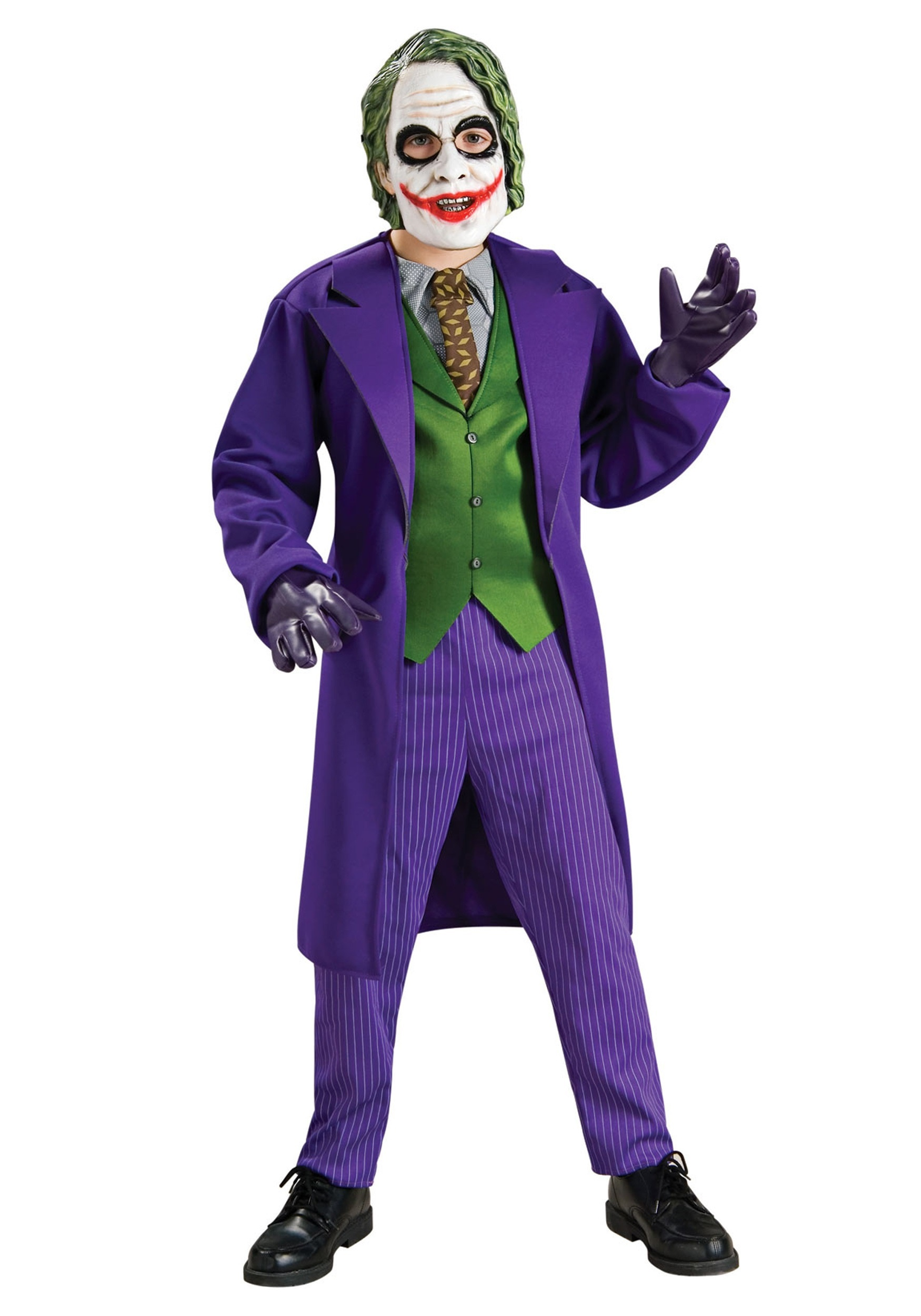 Deluxe Child Joker Costume | Joker Halloween Costume