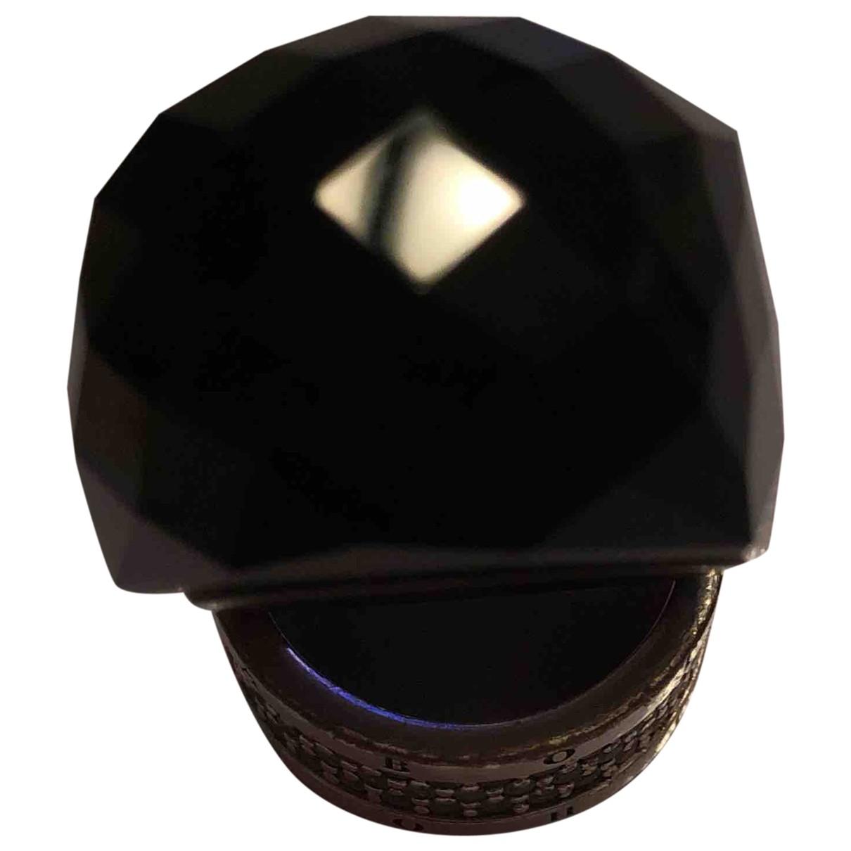 Swarovski Nirvana Ring in  Schwarz Kristall