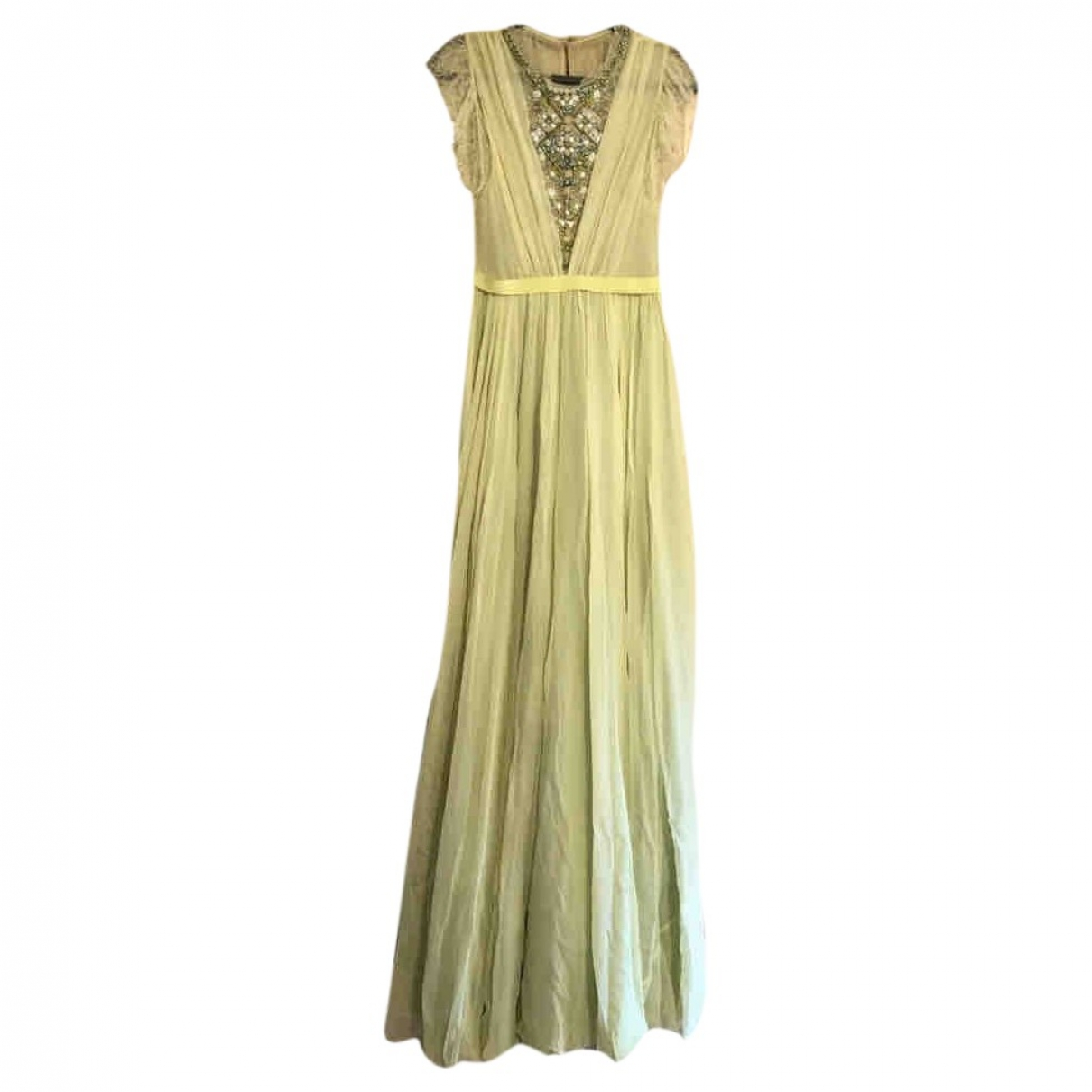 Jenny Packham - Robe   pour femme en dentelle - vert