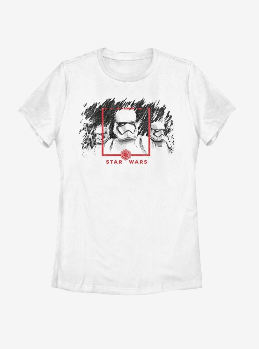 Star Wars Episode IX The Rise Of Skywalker Dawn Patrol Womens T-Shirt