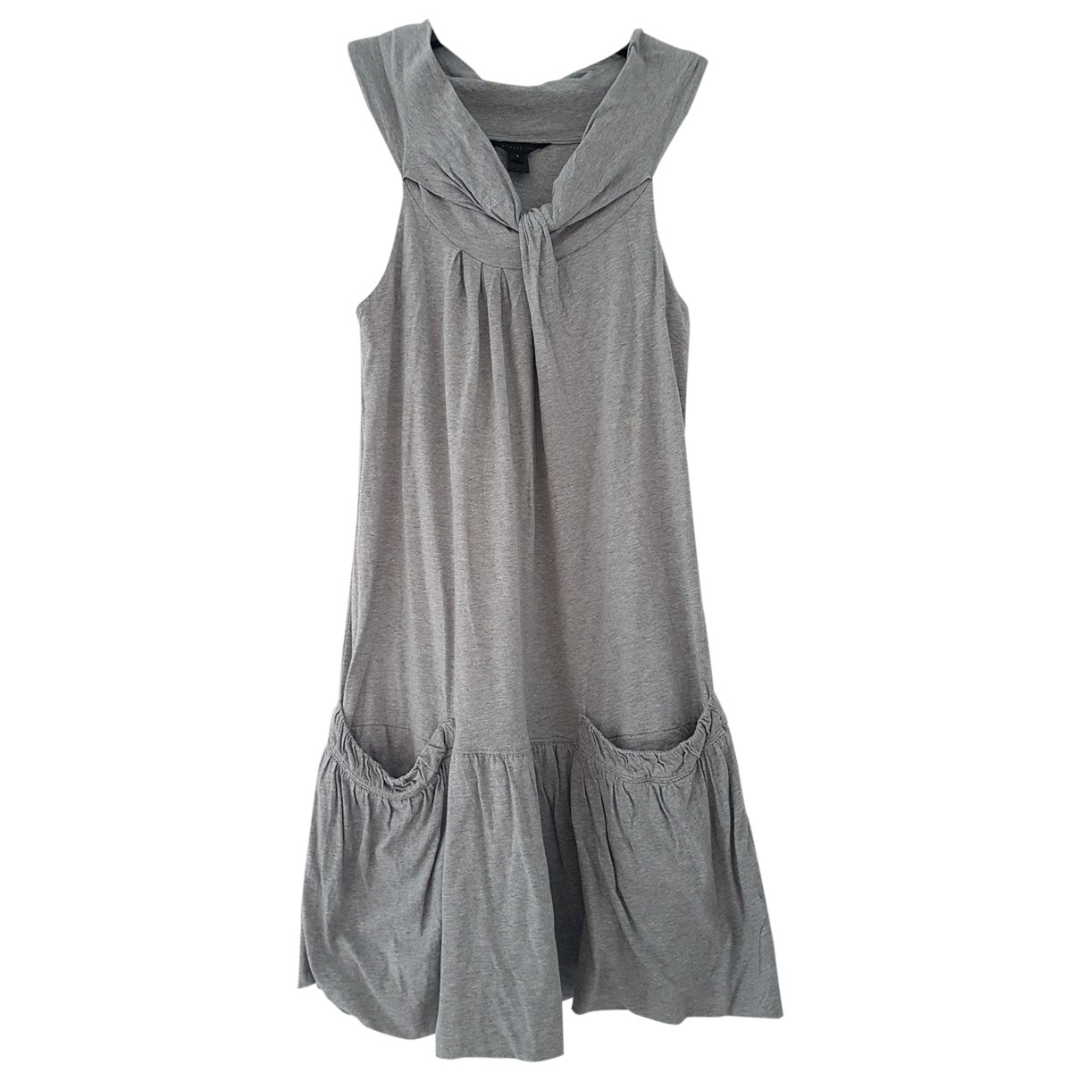 Marc By Marc Jacobs \N Kleid in  Grau Baumwolle