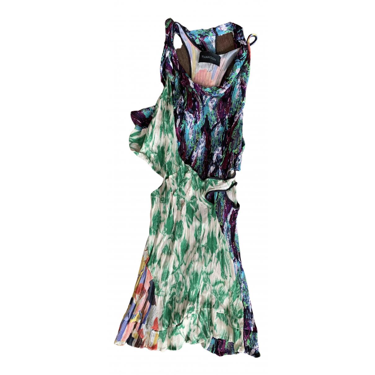 Thakoon \N Kleid in  Bunt Seide