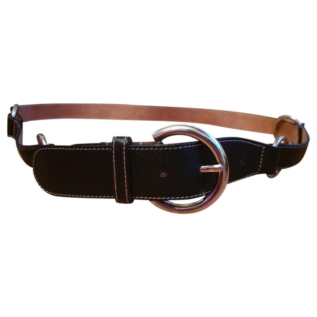Furla \N Black Leather belt for Women S International
