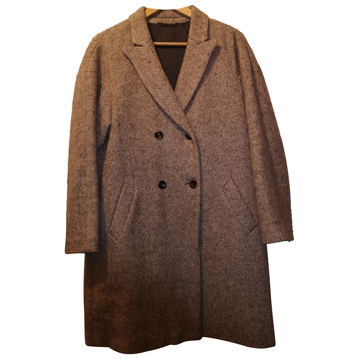 Filippa K \N Brown Tweed coat for Women L International