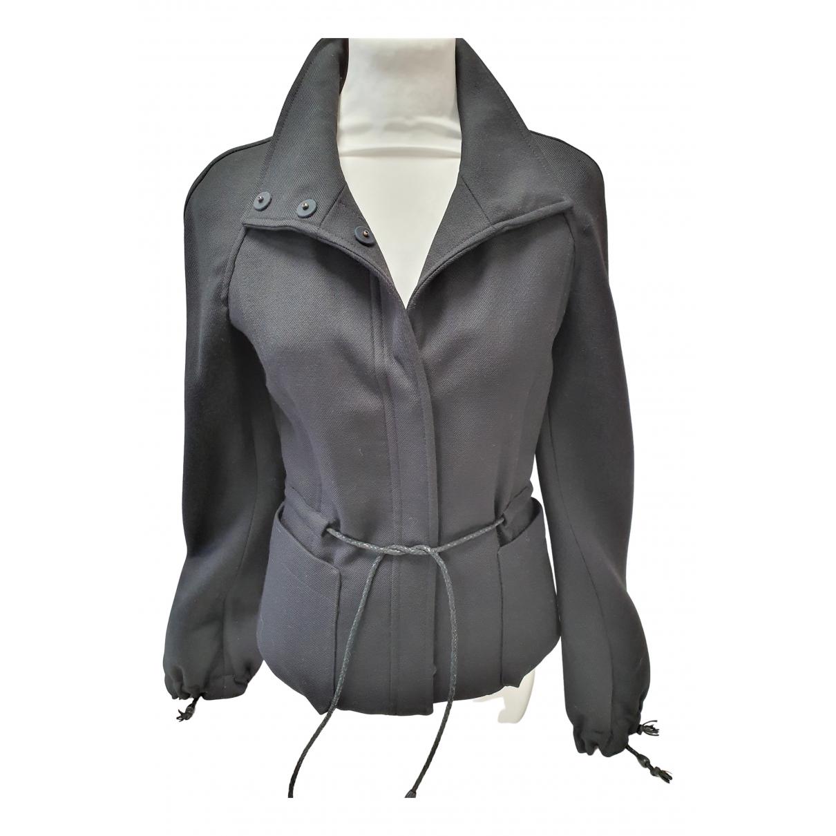 Carolina Herrera - Veste   pour femme en laine - noir