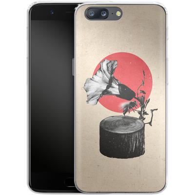 OnePlus 5 Silikon Handyhuelle - Gramophone von Ali Gulec
