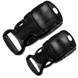Single Adjust Side Release Buckles with Adjust Lock