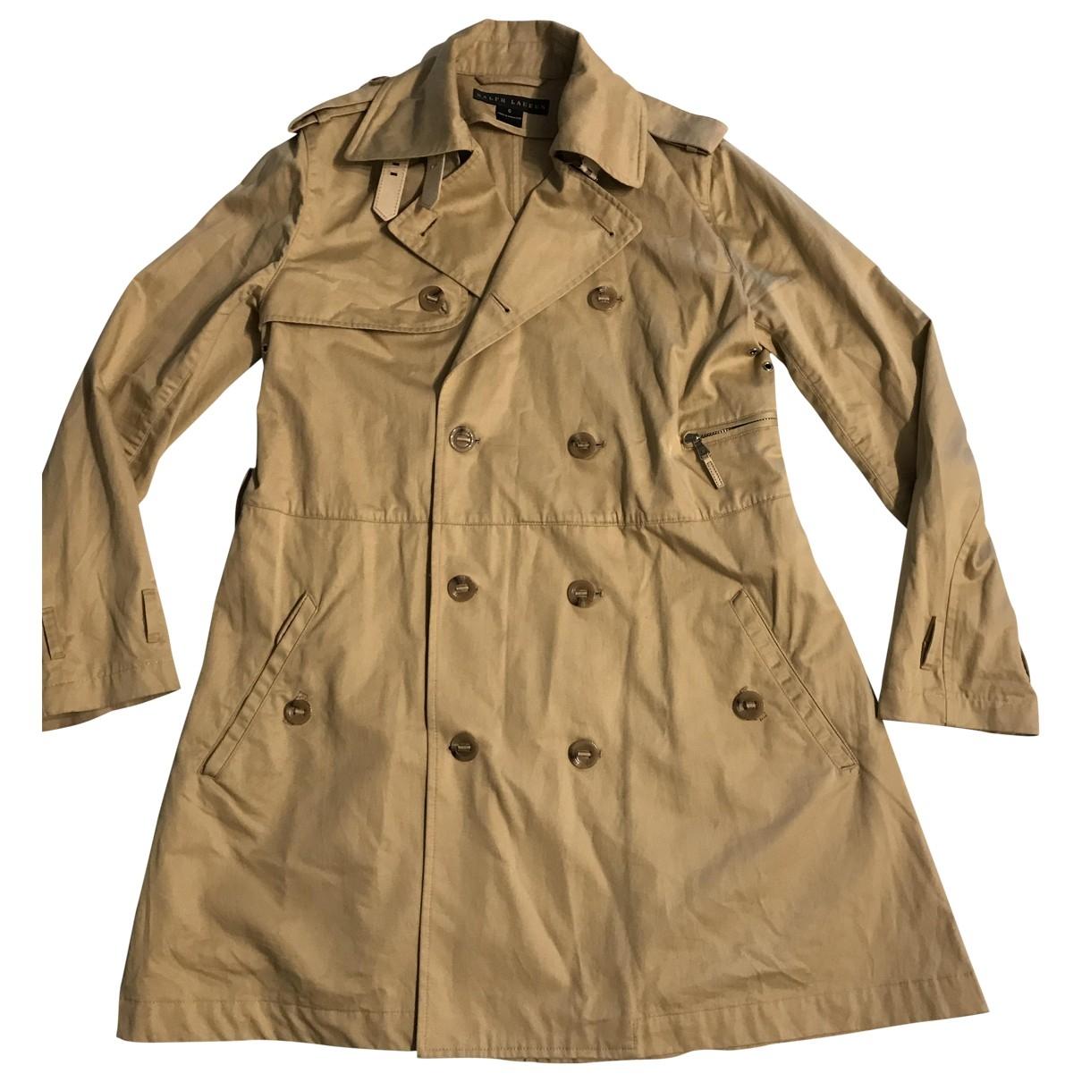 Ralph Lauren - Trench   pour femme en coton - beige