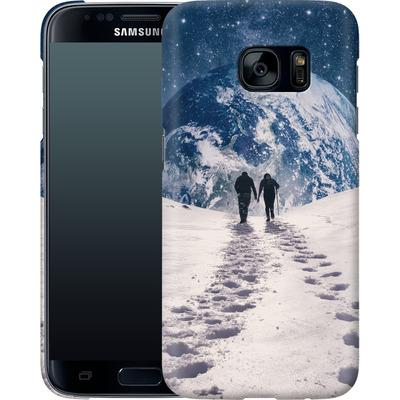 Samsung Galaxy S7 Smartphone Huelle - Pale Blue Dot von Enkel Dika