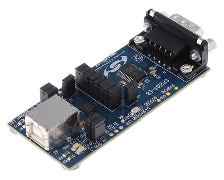 Silicon Labs USB to UART Evaluation Board, CP2103 - CP2103EK