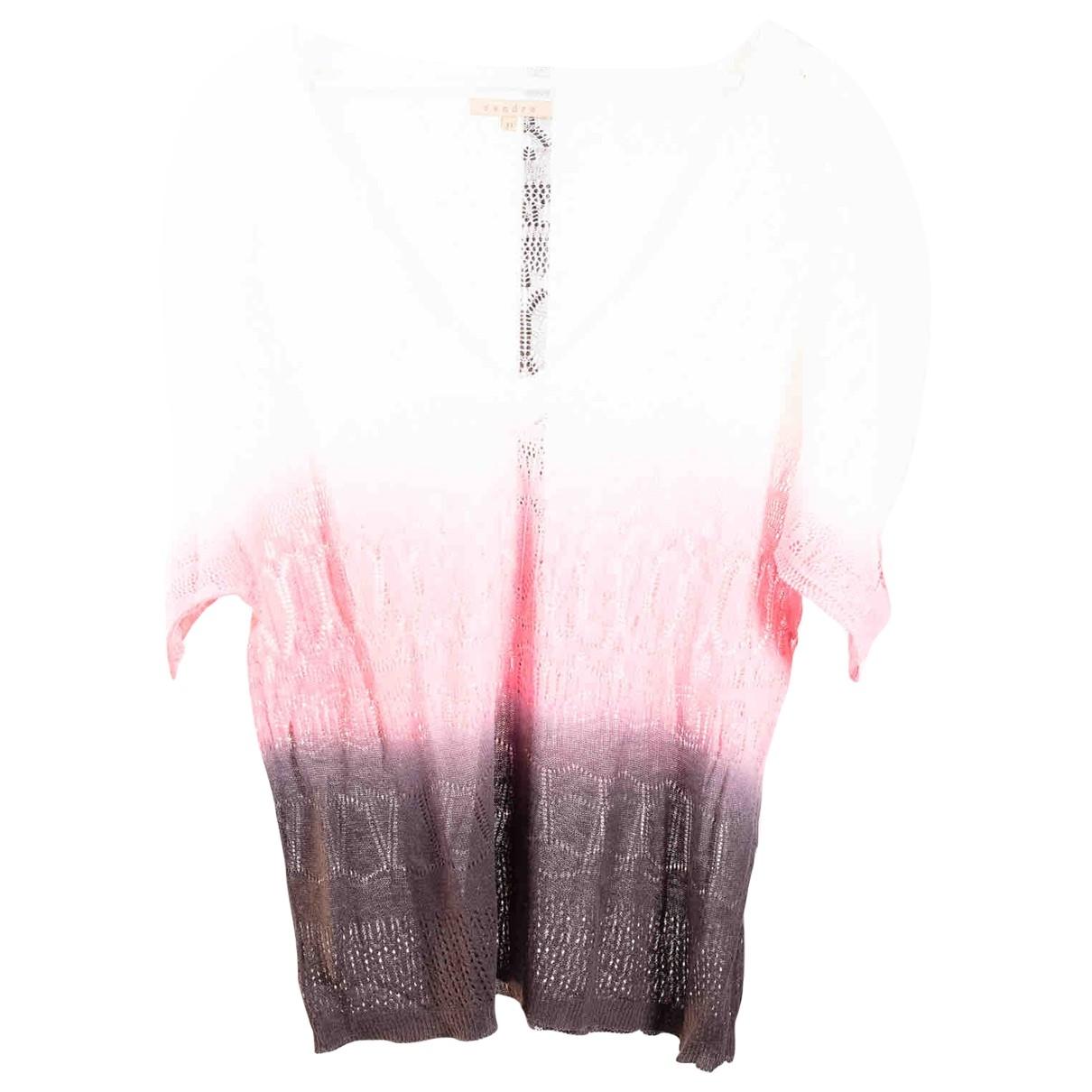Sandro \N Multicolour Cotton  top for Women 36 FR