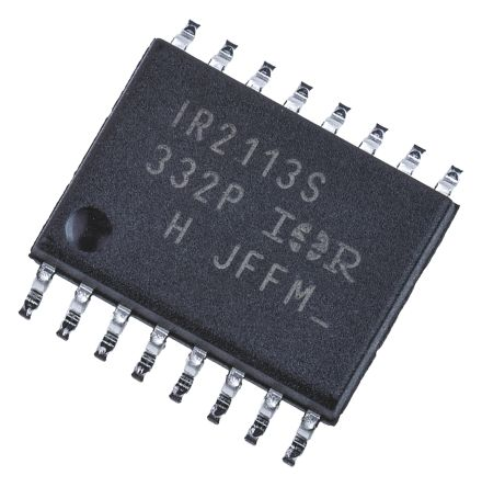 Infineon IR2113SPBF Dual High and Low Side MOSFET Power Driver, 2.5A 16-Pin, SOIC W