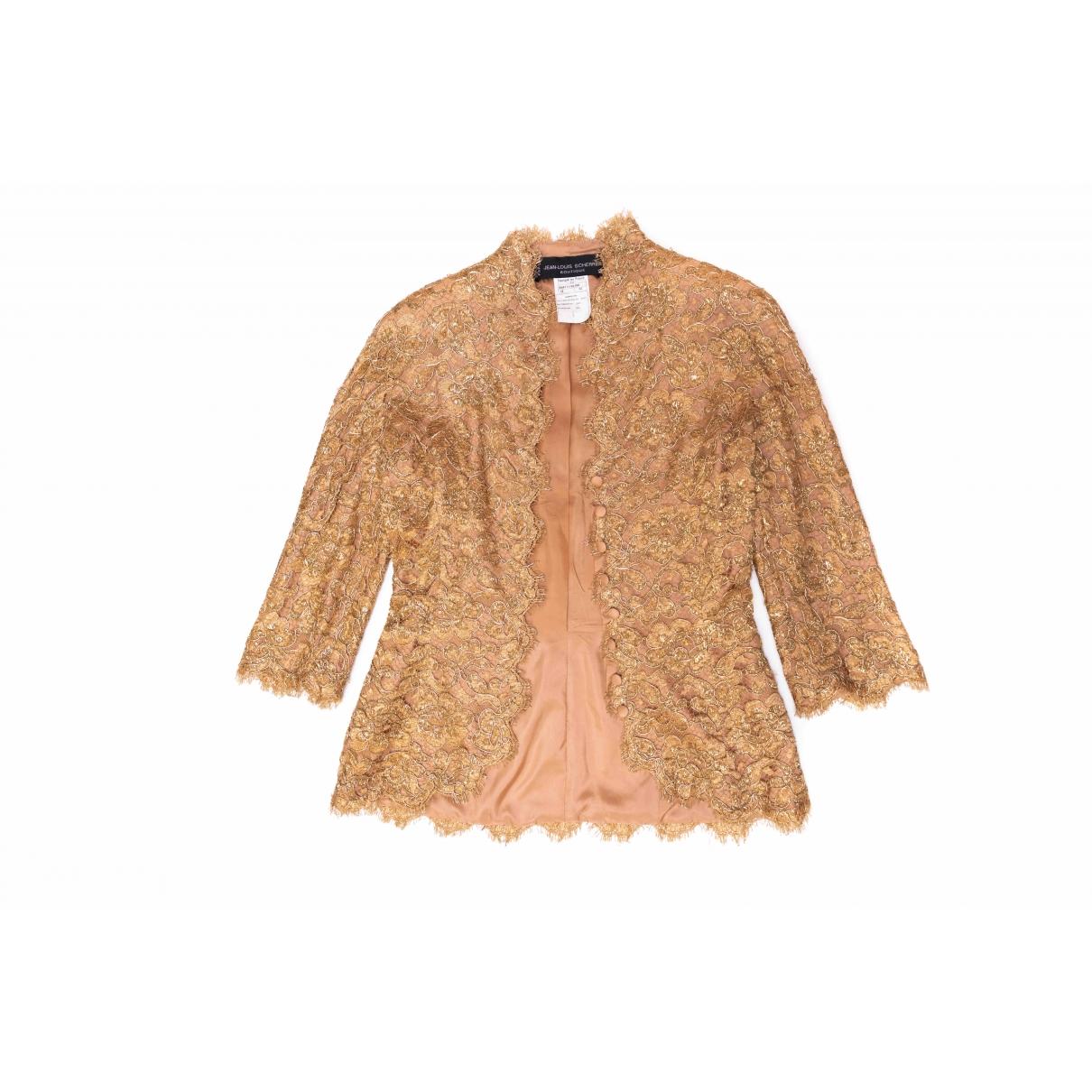 Jean-louis Scherrer \N Jacke in  Gold Polyester