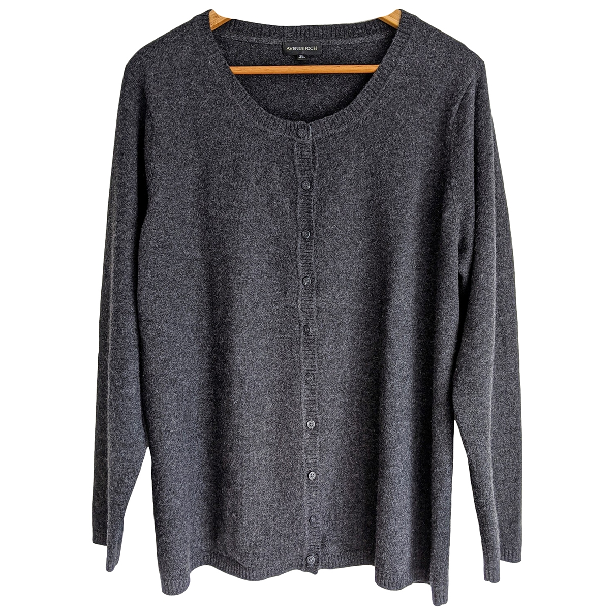 Non Signé / Unsigned \N Grey Cashmere Knitwear for Women XL International