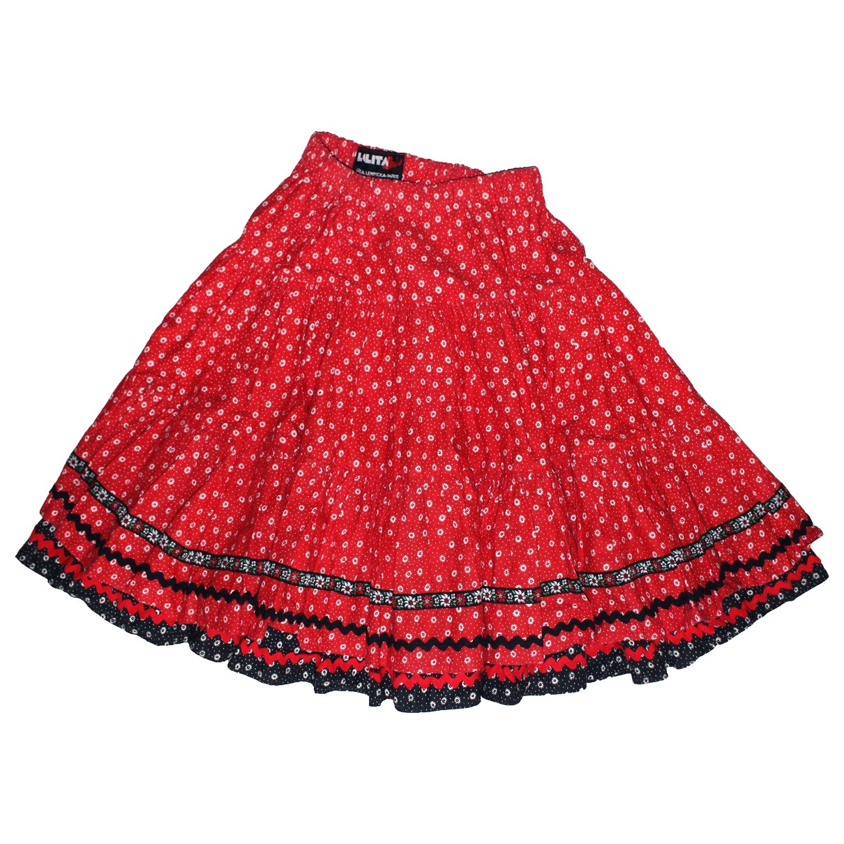 Non Signé / Unsigned \N Red Cotton skirt for Women S International