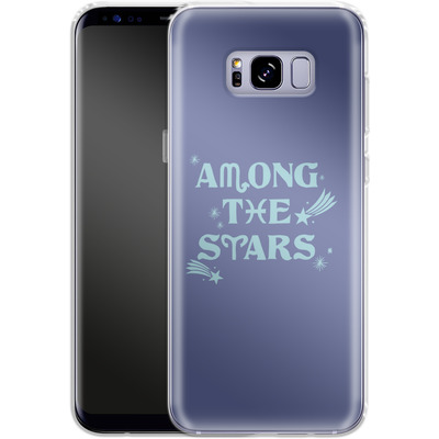 Samsung Galaxy S8 Plus Silikon Handyhuelle - Among The Stars von caseable Designs