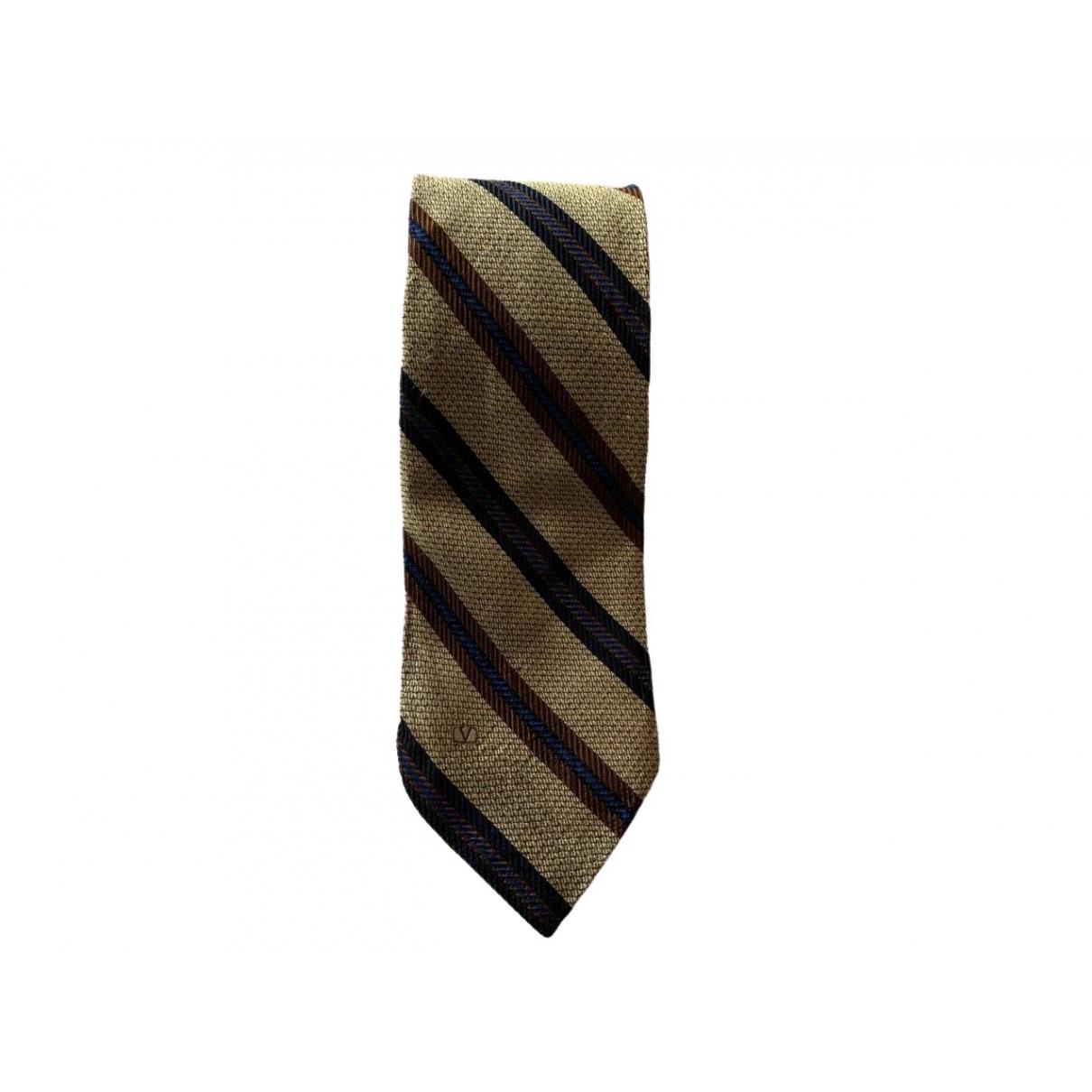 Valentino Garavani - Cravates   pour homme en soie - multicolore