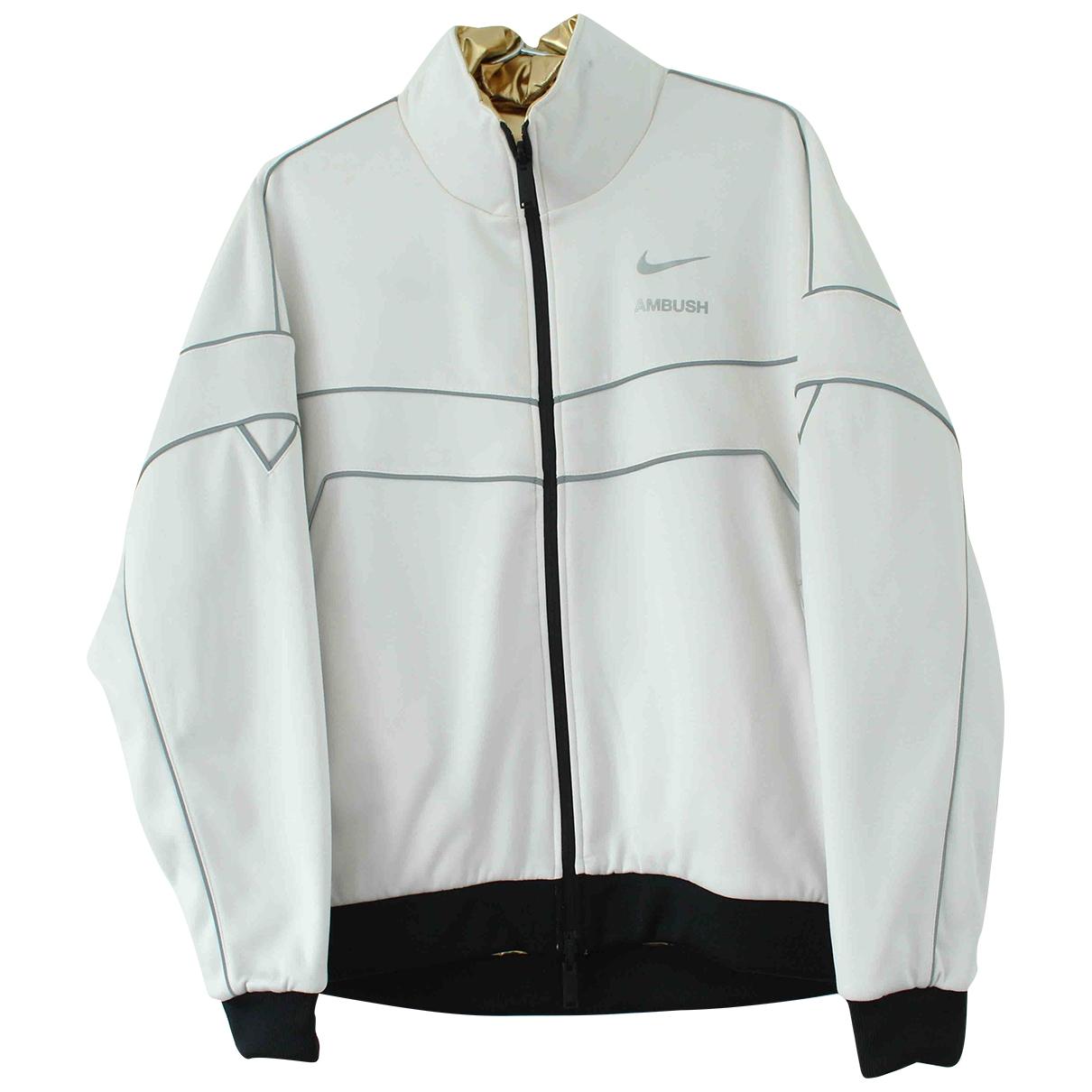 Nike X Ambush \N Jacke in  Weiss Polyester