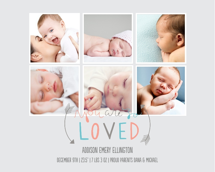Baby + Kids 8x10 Designer Print - Glossy, Prints -You Are So Loved
