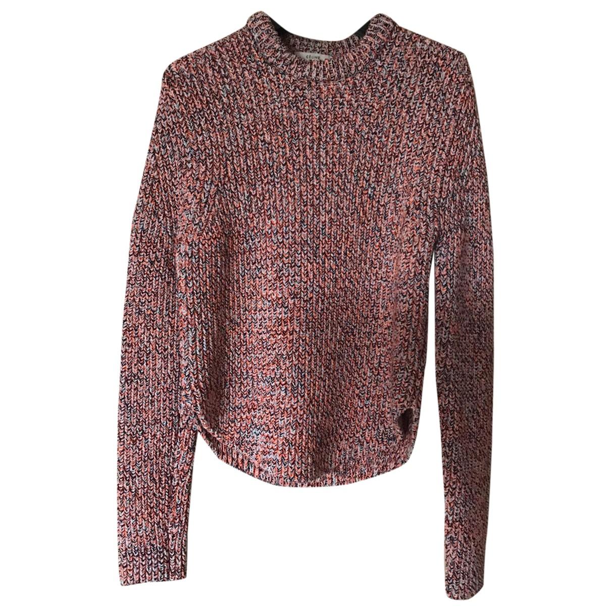 Celine \N Multicolour Cotton Knitwear for Women M International