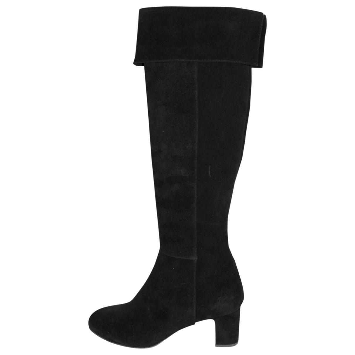 Rupert Sanderson \N Black Suede Boots for Women 40 EU
