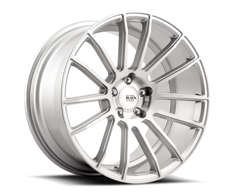 Savini BM09-20100512R3079 di Forza Brushed Silver BM9 Wheel 20x10.0 5x112 30mm