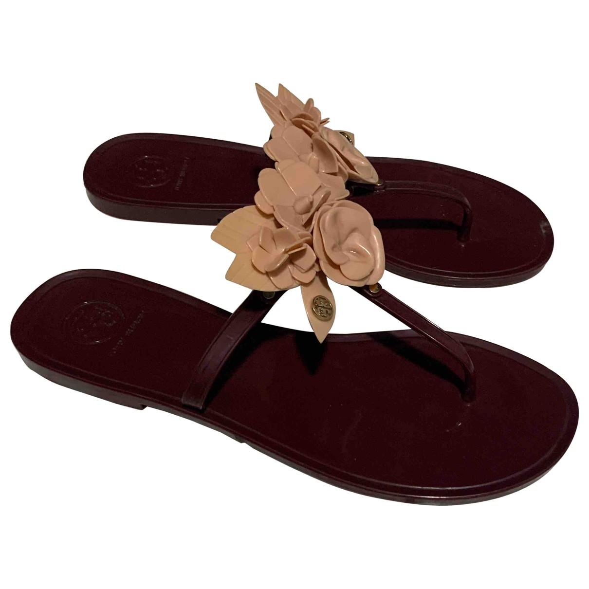 Tory Burch \N Burgundy Sandals for Women 8 US
