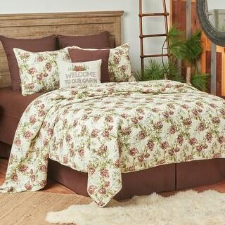 Cooper Pines Rustic Lodge Twin Quilt Set (Queen/Full - Queen/Full)