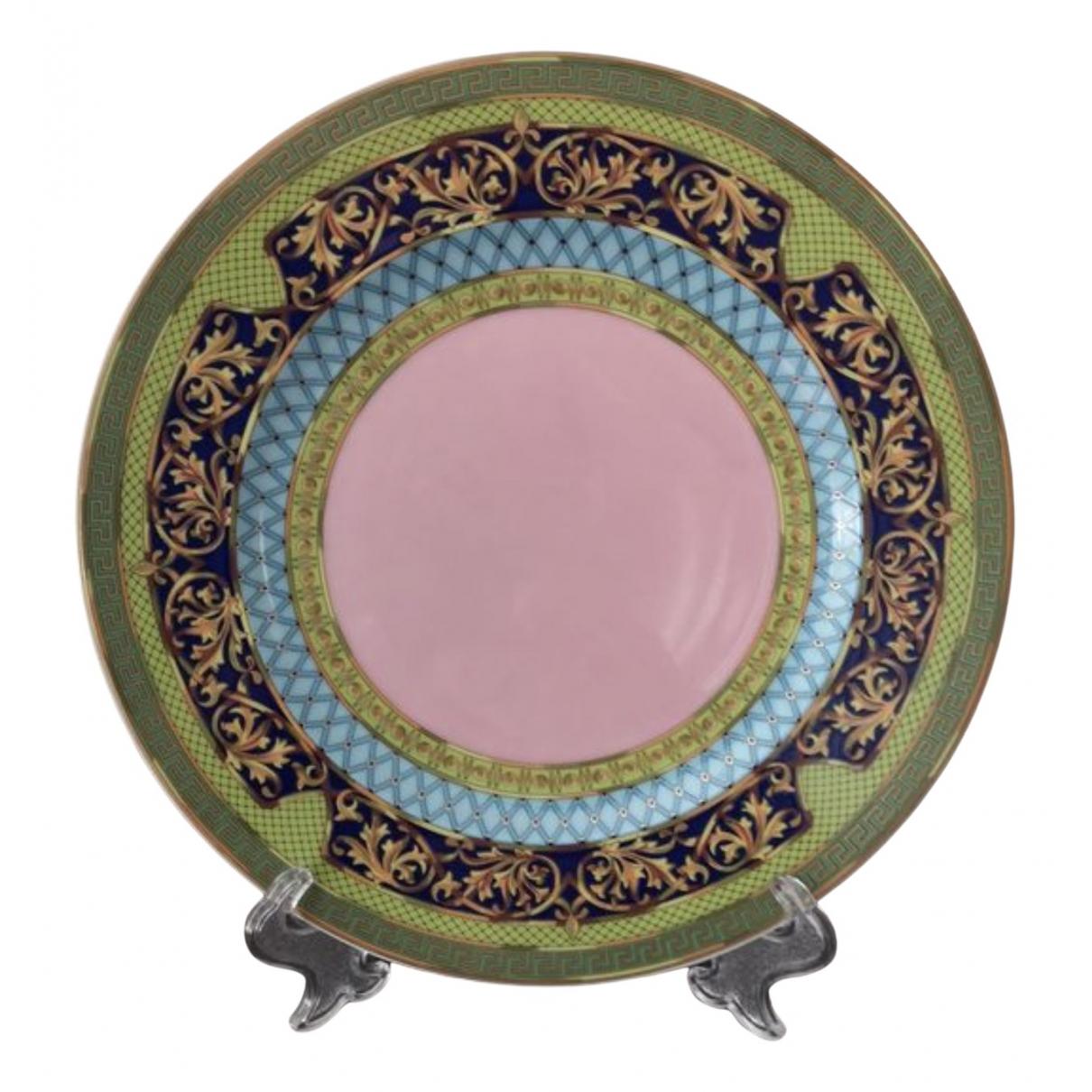Versace - Objets & Deco   pour lifestyle en porcelaine - rose