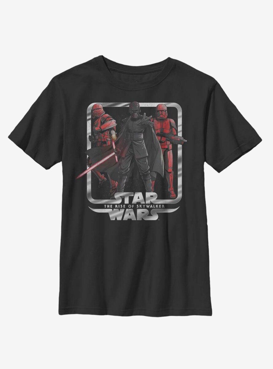 Star Wars Episode IX The Rise Of Skywalker Vindication Youth T-Shirt