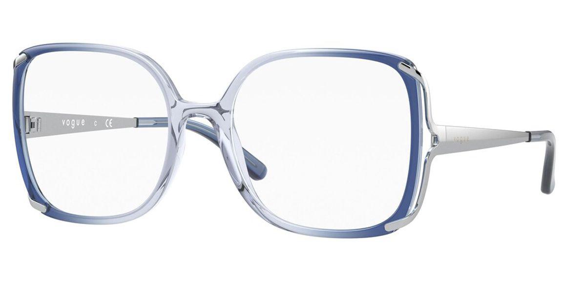 Vogue Eyewear VO5362 2877 Women's Glasses Blue Size 54 - Free Lenses - HSA/FSA Insurance - Blue Light Block Available