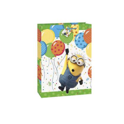 Sac-cadeau Jumbo Despicable Me Minion 18''H x 13''W 1Pièces Pour la fête d'anniversaire