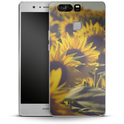 Huawei P9 Silikon Handyhuelle - Sunflower 2 von Joy StClaire