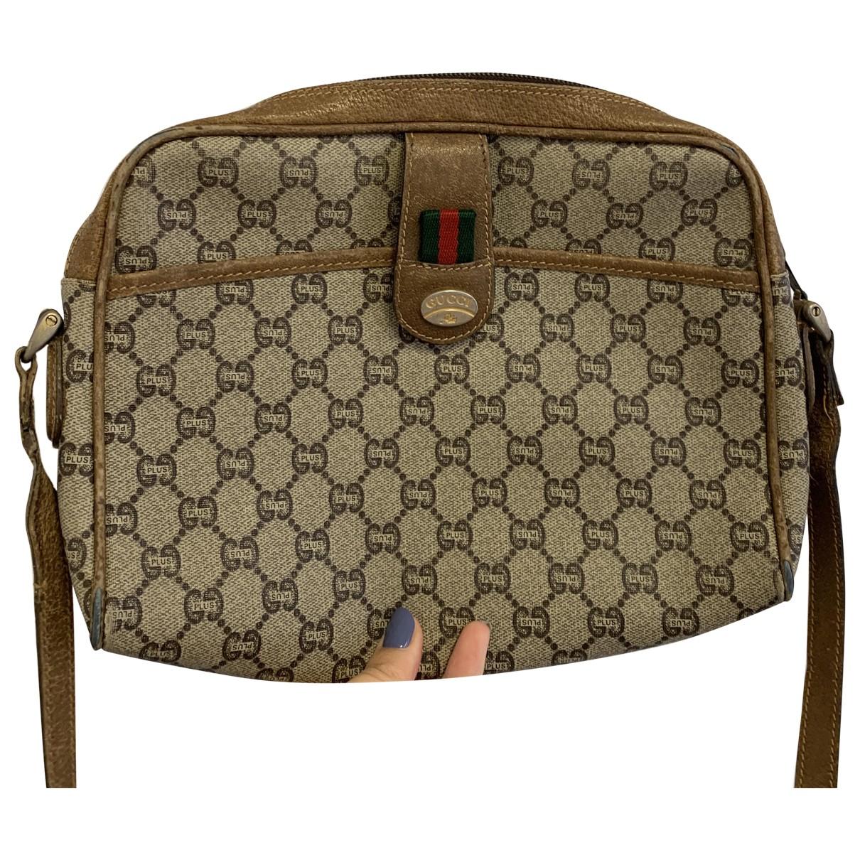 Non Signé / Unsigned \N Brown Cloth handbag for Women \N