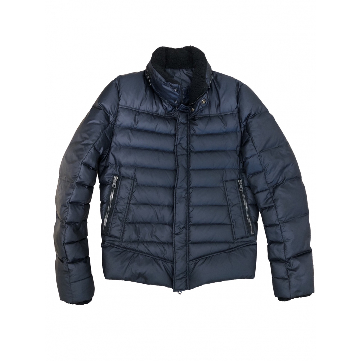 Balmain \N Navy jacket  for Men 48 IT