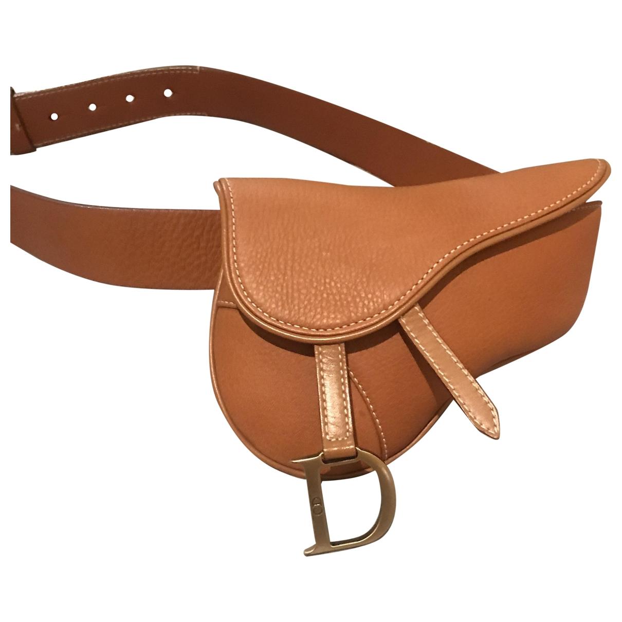 Bolso  Saddle de Cuero Dior
