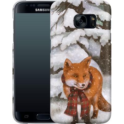 Samsung Galaxy S7 Smartphone Huelle - Winter Fox von Terry Fan