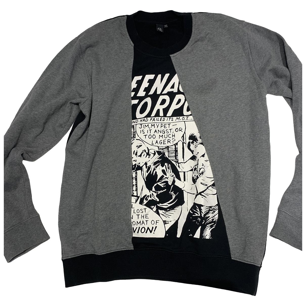 Mcq \N Black Cotton Knitwear & Sweatshirts for Men L International