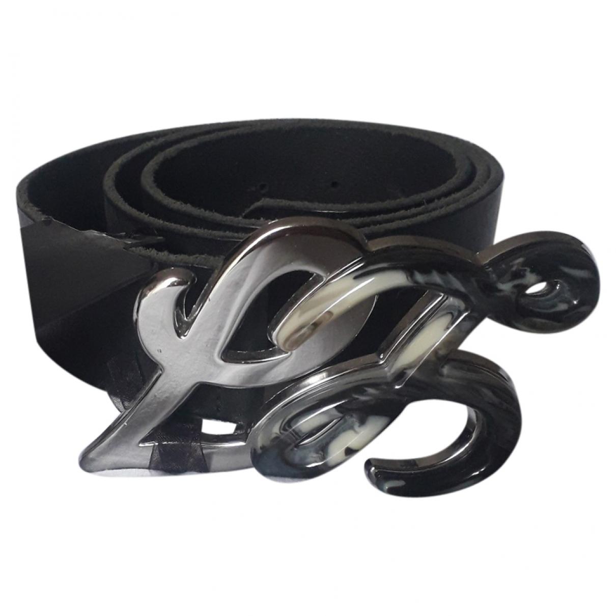 Liu.jo \N Black Leather belt for Women M International