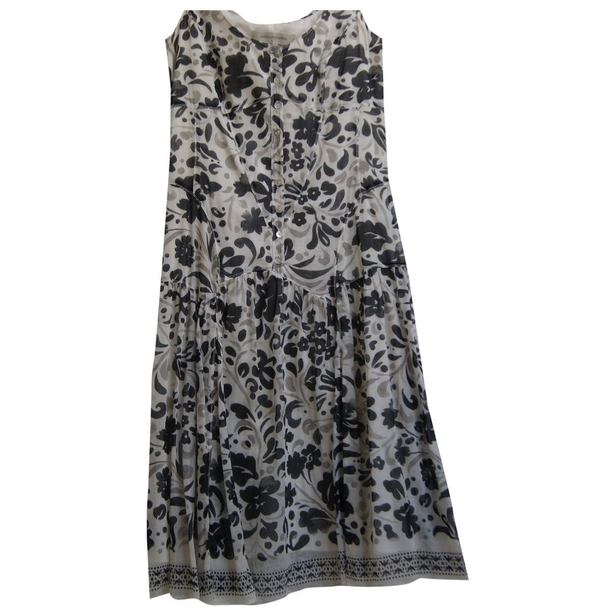 Gerard Darel \N Multicolour Cotton dress for Women 36 FR