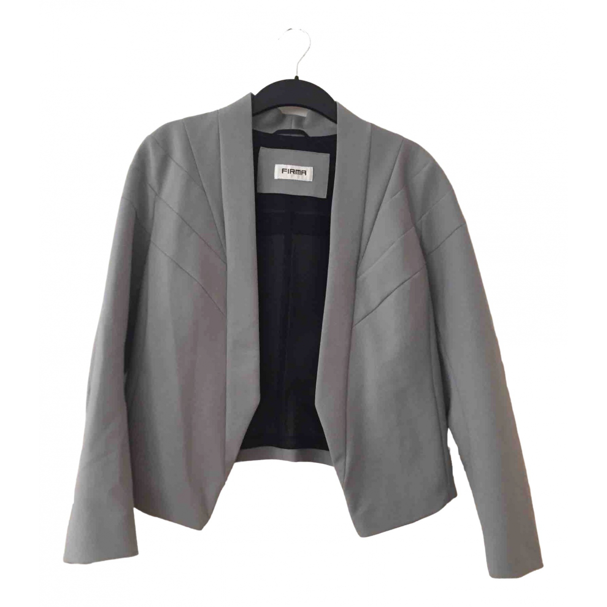 Non Signé / Unsigned \N Cotton jacket for Women 42 FR