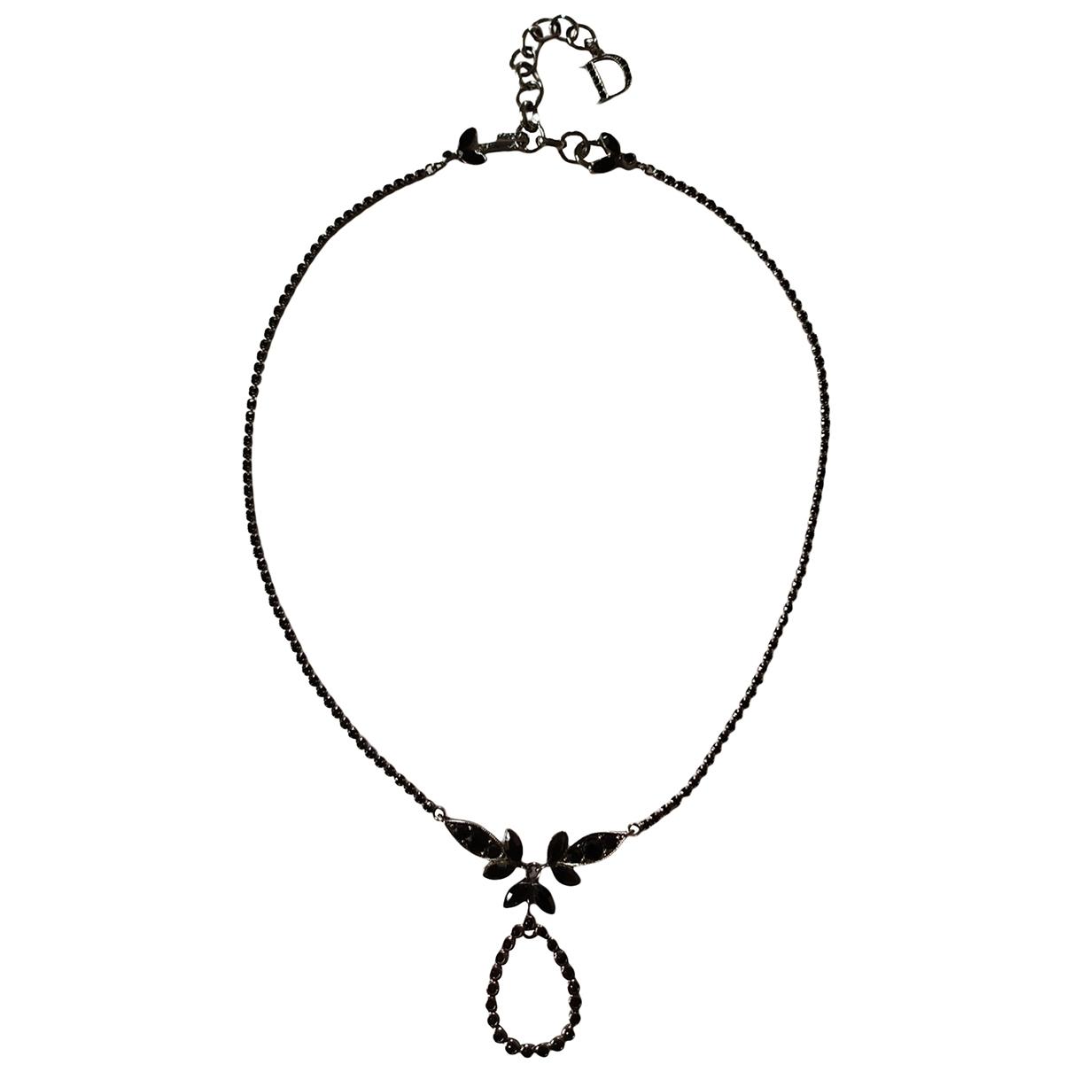 Christian Dior \N Kette in  Schwarz Metall