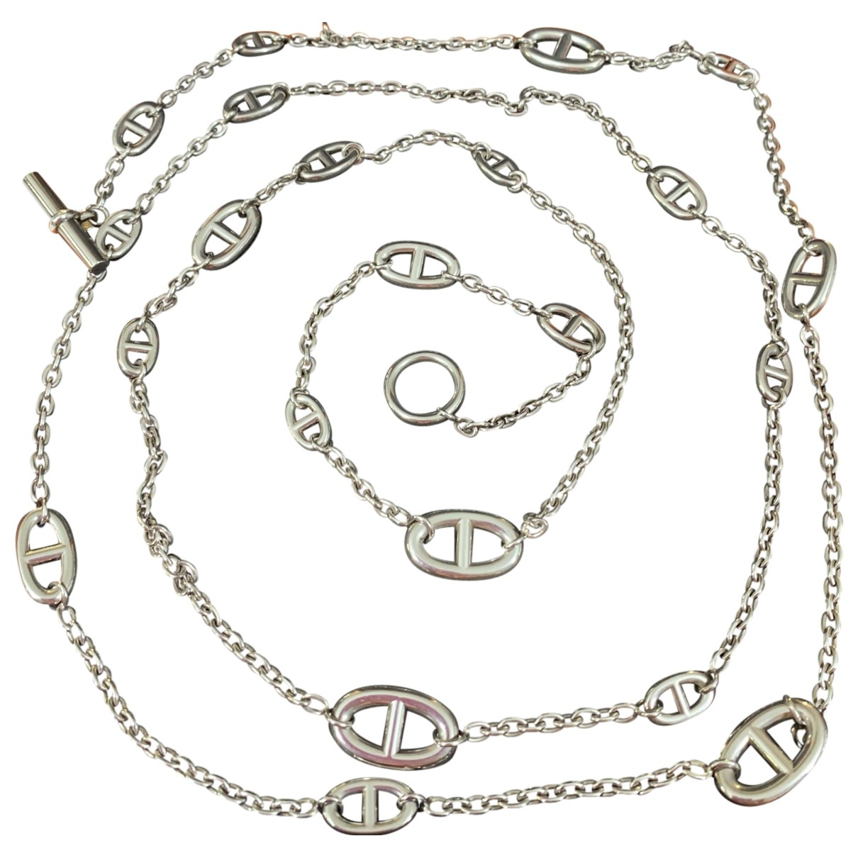 Collar Farandole de Plata Hermes