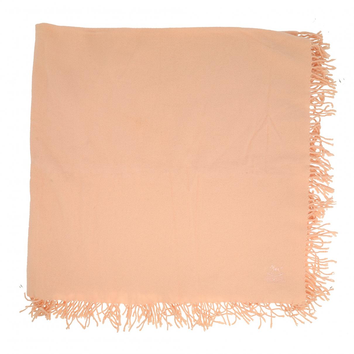 Hermes - Foulard   pour femme en cachemire - rose