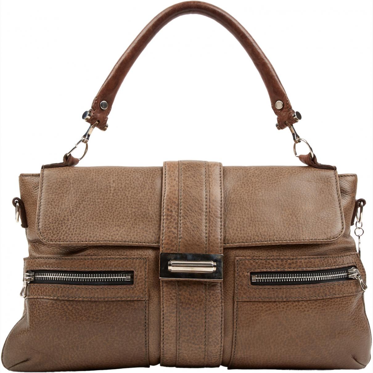 Lanvin \N Brown Leather handbag for Women \N