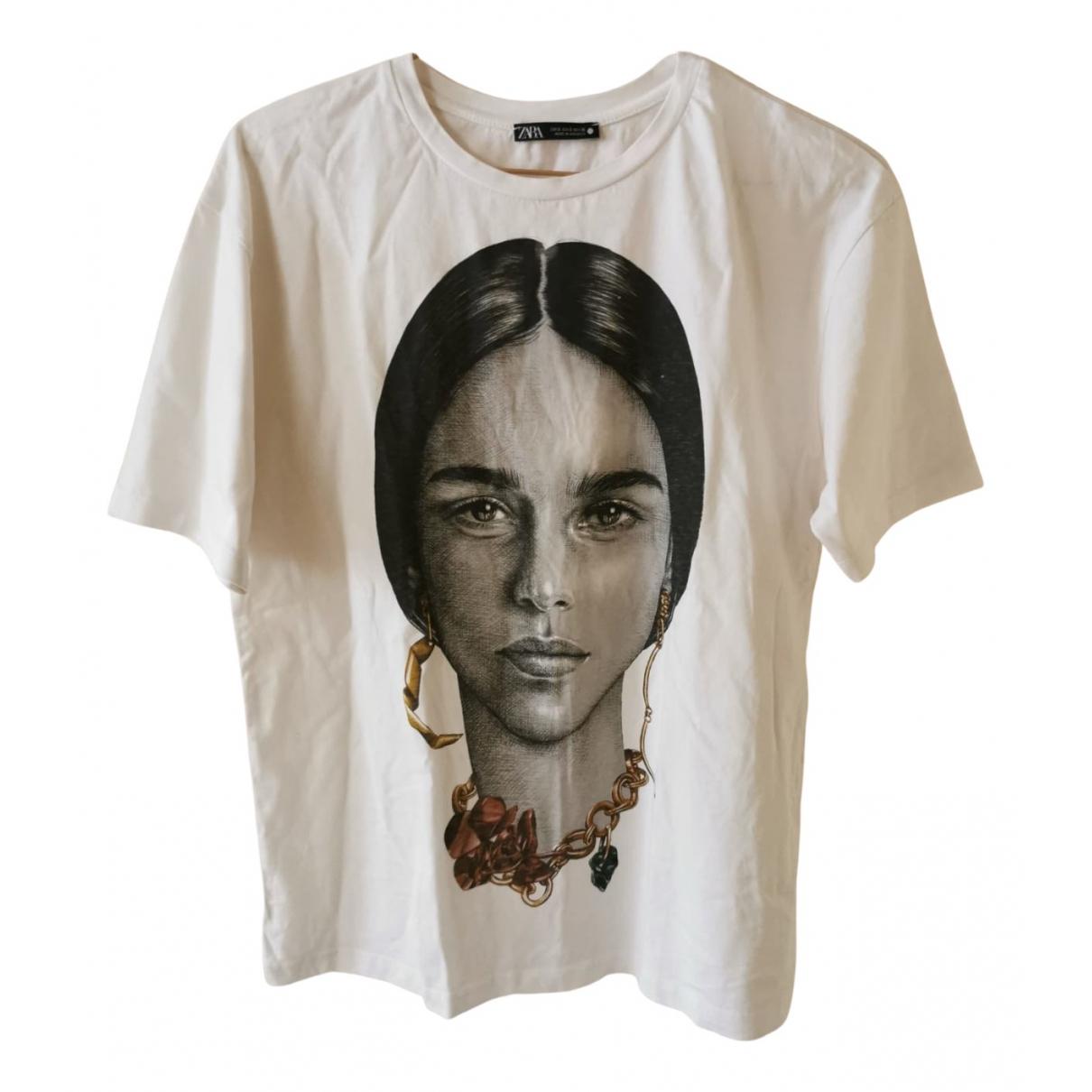 Zara \N White Cotton  top for Women S International