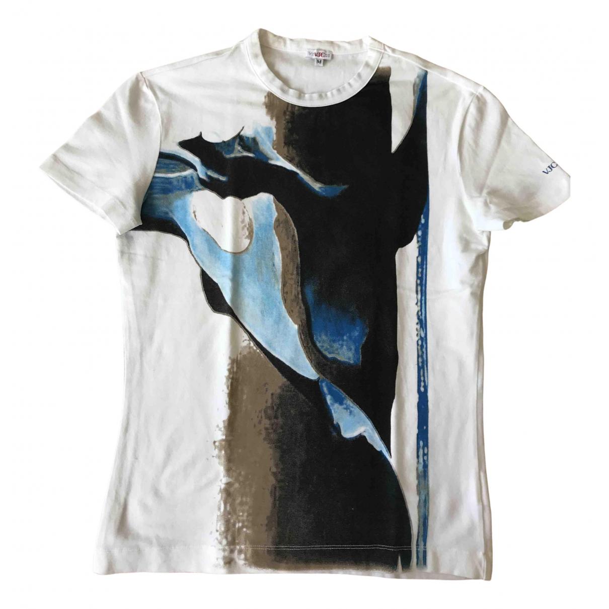 Versace Jeans \N White Cotton T-shirts for Men M International