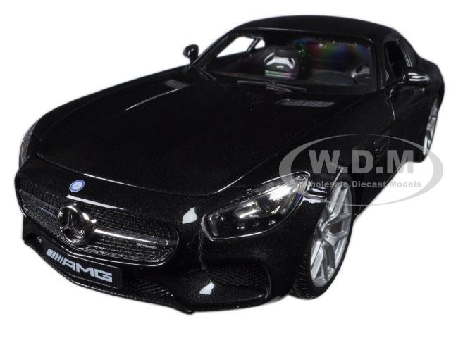Mercedes AMG GT Metallic Black 1/18 Diecast Model Car by Maisto