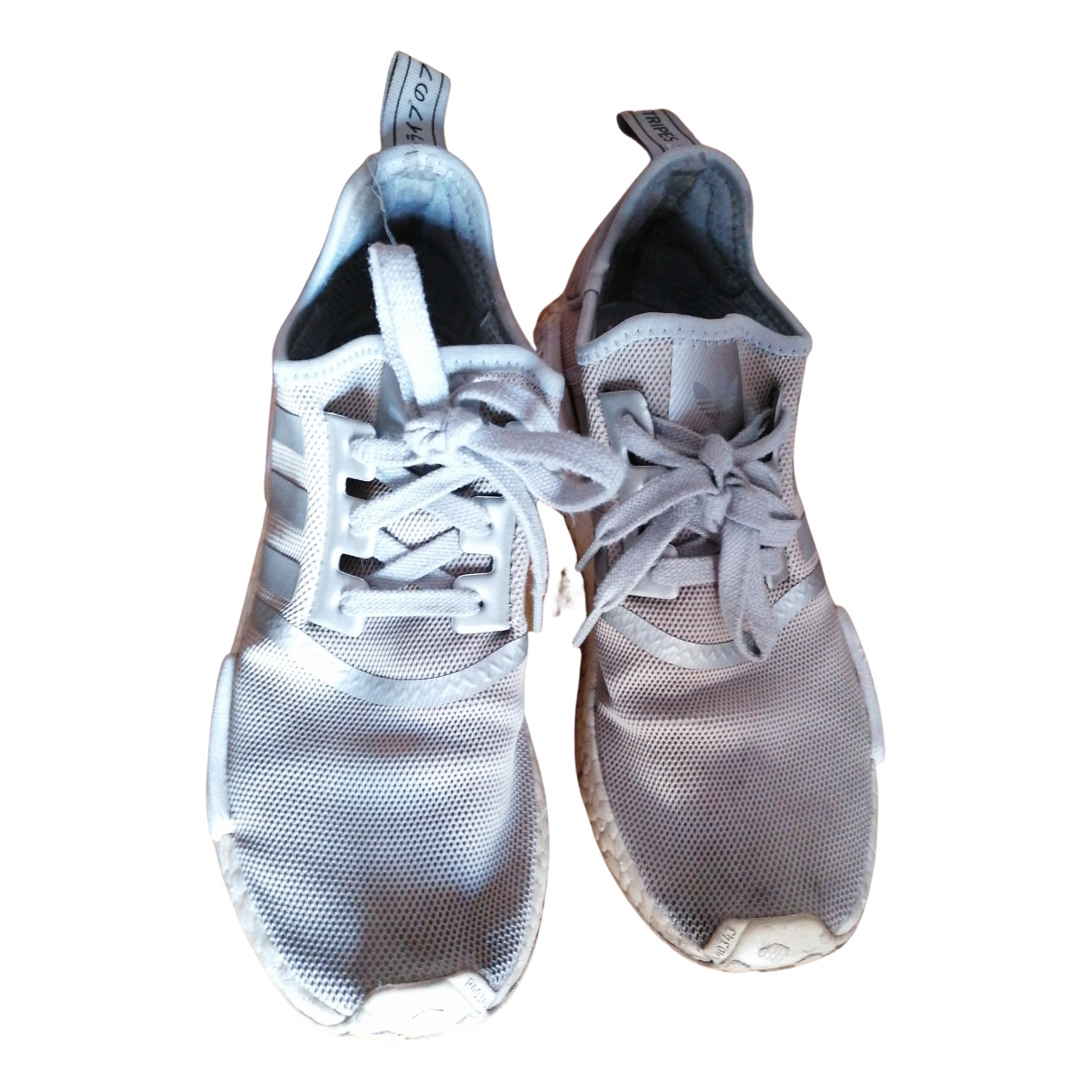 Adidas Nmd Sneakers in  Grau Leinen